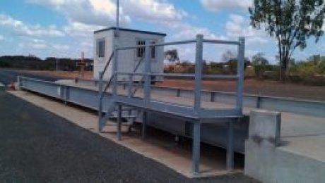 Morranbah weighbridge - SWIA Australia