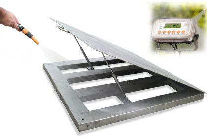Waterproof platform and display - SWIA Weighing Equipment Brisbane