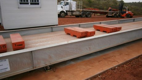 Mt Isa 20m Weighbridge - SWIA Supply and Installation