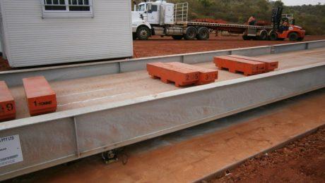 Mt Isa 20m Weighbridge - SWIA Supply and Installation