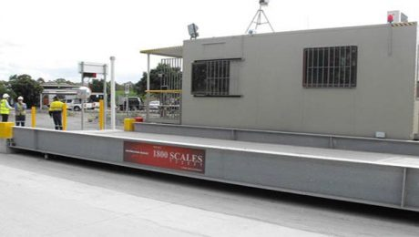 Weighbridge installed at Alex Fraser Brisbane Site - SWIA QLD