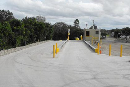 Concrete Weighbridge - SWIA Supply and Installation