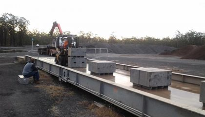 Weighbridge calibration - SWIA Weighing Solution