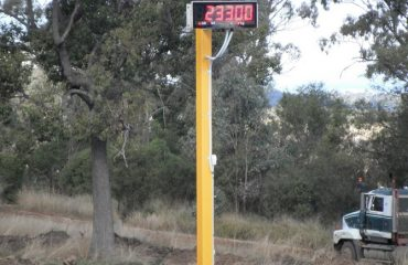 Remote Display for weighbridge - SWIA Weighbridge