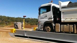Caves Quarry weighbridge installation - SWIA QLD
