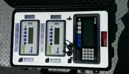 Portable remote display for weighbridge - SWIA QLD