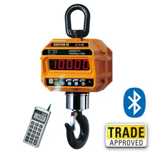 CAS CASTON-BT Bluetooth Crane Scale - SWIA
