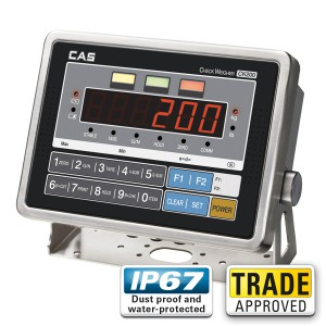 CAS CI-200SC Digital Check-Weigh Indicator - SWIA
