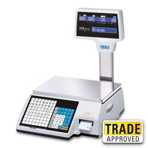 CAS CL-5000J Barcode Label Printing Scale - SWIA