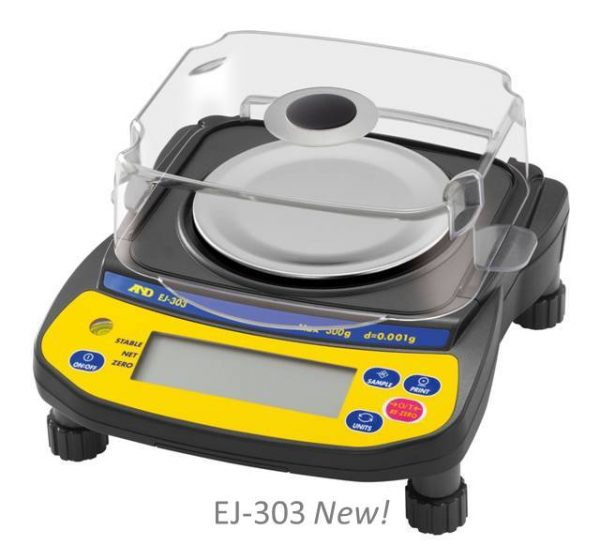 EJ Series Compact Balances with cover - SWIA