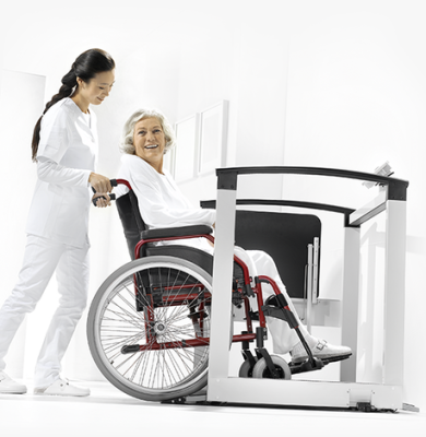 SECA 684 Multifunction Wheelchair Scale - SWIA