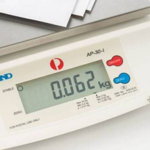 A&D AP-30i Postal Counter Scale - SWIA Products