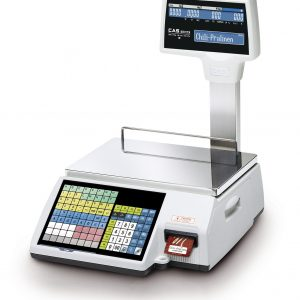 CAS CL-5500 Ticket and Label Printing Scale - SWIA